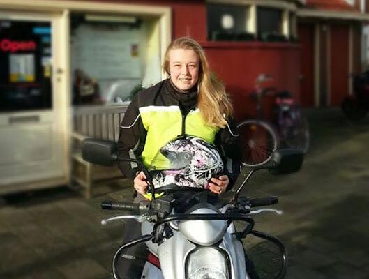 Motorrijles bij Motorrijschool Animo-Nr.1