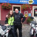 Geslaagd voor motorrijbewijs in Haarlem